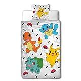 Character World Bettwäsche Pokemon 135x200 + 80x80 · Pokémon Pikachu & Friends Game · 100%...