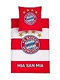 FC Bayern München Bettwäsche rot/weiß