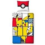 Character World Bettwäsche Pokemon 135x200 + 80x80 deutsche Größe · Pokémon Pikachu · 100%...