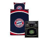 FC Bayern München Bettwäsche Glow in The Dark