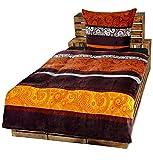 Dresscode 2-Teilige Bettwäsche Set Bett Bezug 135x200 cm x Kopfkissen 80x80 cm Teddy PLÜSCH Coral...