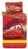 Kinderbettwäsche Disney III 2-teilig 100% Baumwolle 40x60 + 100x135 cm mit Reißverschluss...