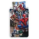 Spiderman Amazing Kinder-Bettwäsche-Set, Bettbezu
