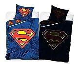 Superman Bettwäsche Glow 135x200 cm + 80x80 cm