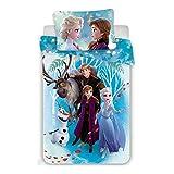 Disney Die Eiskönigin – Bettwäsche – Bettbezug, Baumwoll