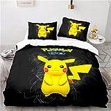 Bettwäsche 135x200, Süße Elfe Muster Bettwäsche Set, Kinder Bettbezug aus...