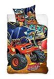 Bettwäsche Blaze und die Monster Maschinen 135x200+80x80