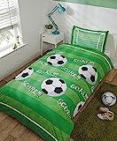 Goal Football Bettwäsche-Set für Einzelbett, Bettbezug und Kissenbezu