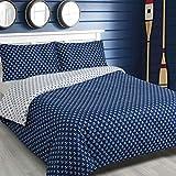 Traumschlaf Wendebettwäsche Marina Blue Anker 1 Bettbezug 135 x 200 cm + 1 Kissenbezug 80 x 80 cm
