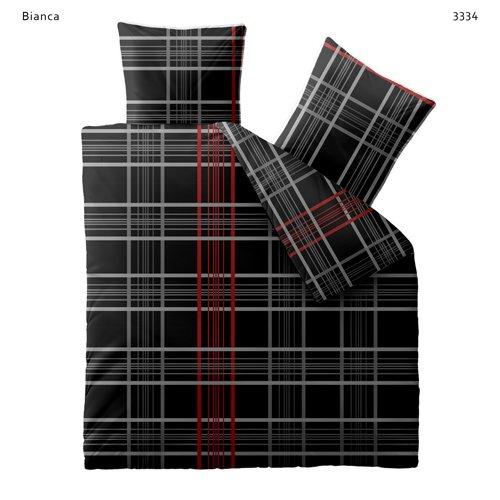 Bettwäsche 200x200 Baumwolle Mit Reißverschluss Fashion Bianca
