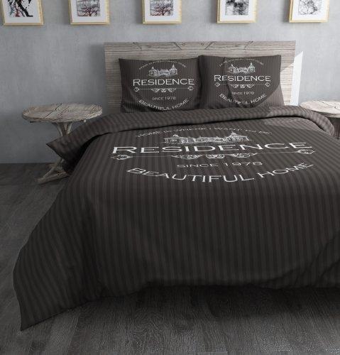 dreamhouse bedding bettw sche residence 200x200 220 grau. Black Bedroom Furniture Sets. Home Design Ideas